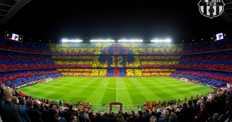Barcelona hospitality tickets at Camp Nou