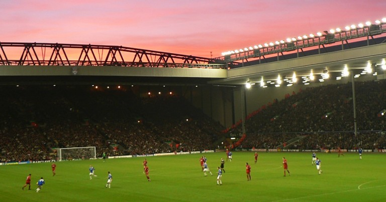 Liverpool vs Manchester City at Anfield
